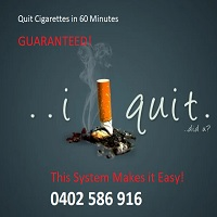 Quit Cigarettes in 60 Minutes GUARANTEED!